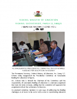 FEDERAL GOVERNMENT INAUGURATES PRESIDENTIAL COMMITTEE