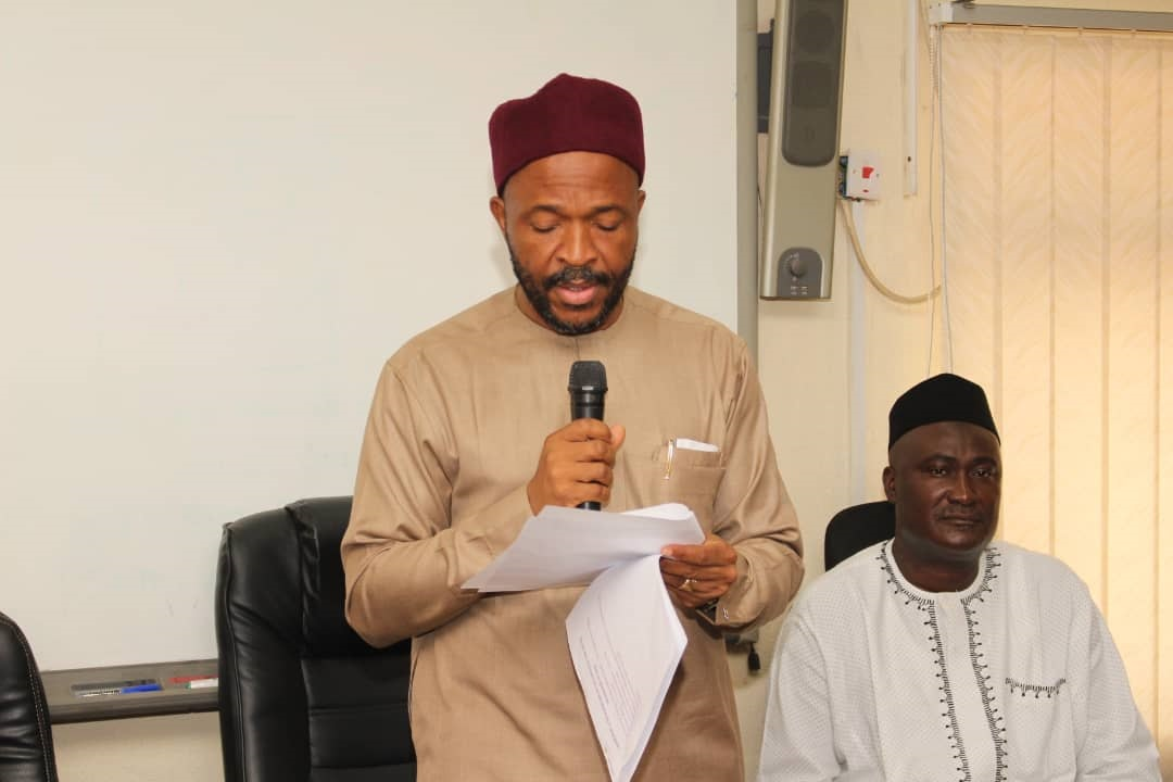 Minister of State for Education, Hon. Chukwuemeka Nwajiuba and the Director  of ICT at the Launch of Cisco Cyber Security Training for FME Staff -  FEDERAL MINISTRY OF EDUCATION