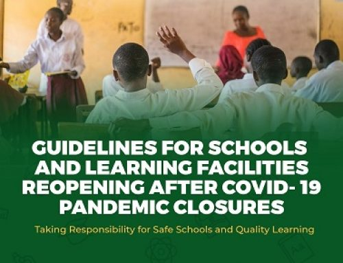 COVID 19 GUIDELINES FOR SAFE REOPENING OF SCHOOLS & LEARNING FACILITIES