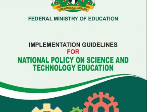 IMPLEMENTATION GUIDELINES FOR NATIONAL POLICY ON SCIENCE AND TECHNOLOGY EDUCATION
