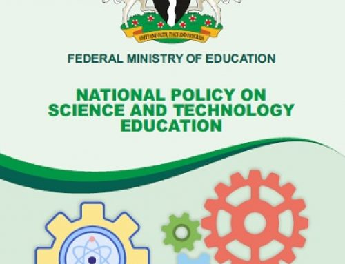 NATIONAL POLICY ON SCIENCE AND TECHNOLOGY EDUCATION
