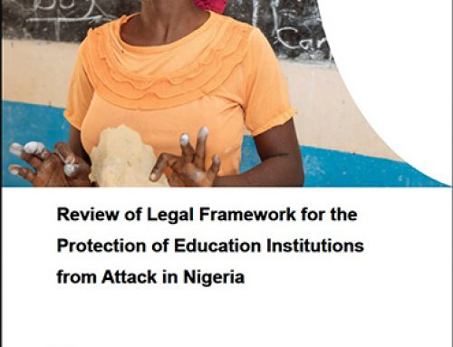 Review of the Legal Framework for the Protection of Education Institution